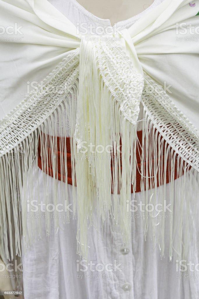 Flamenco dress stock photo