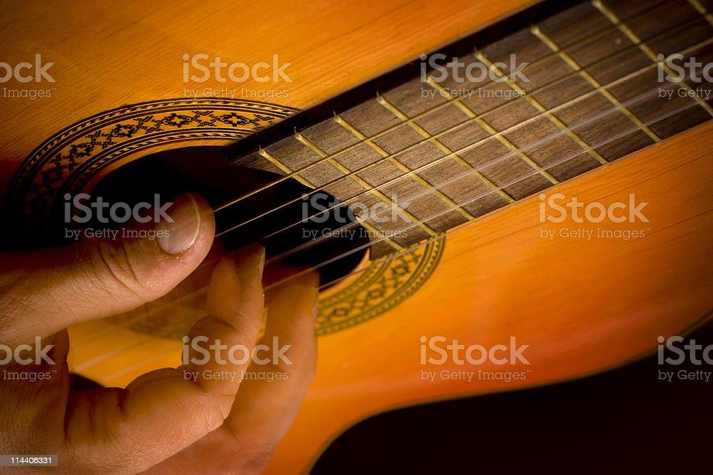 Flamenco Fingers royalty-free stock photo