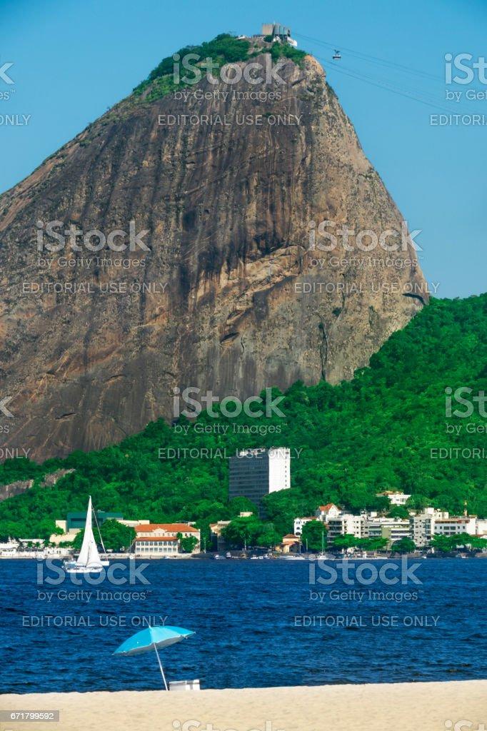 Flamengo Beach stock photo