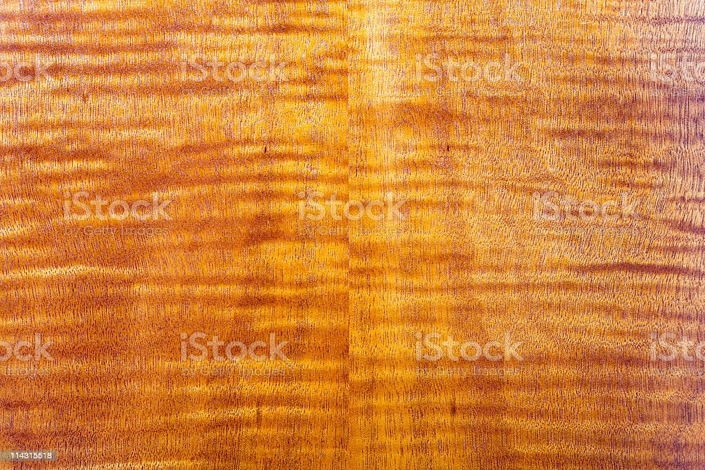 Flame-pattern wood grain royalty-free stock photo