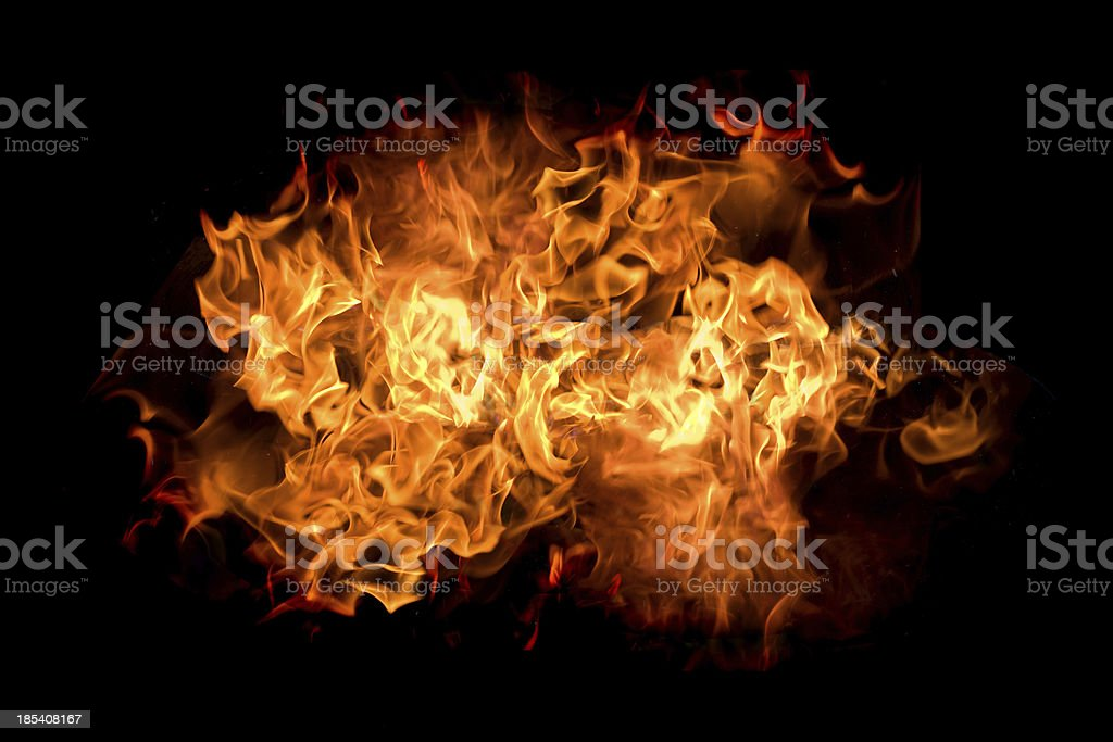 Flames XXL stock photo