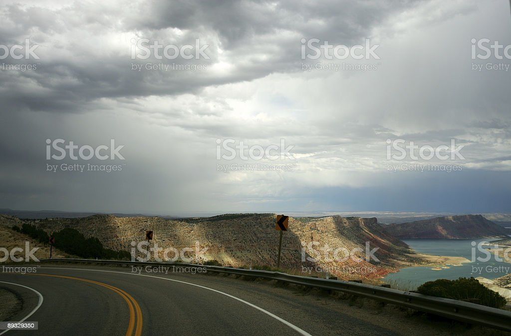 Flaming Gorge royalty-free stock photo
