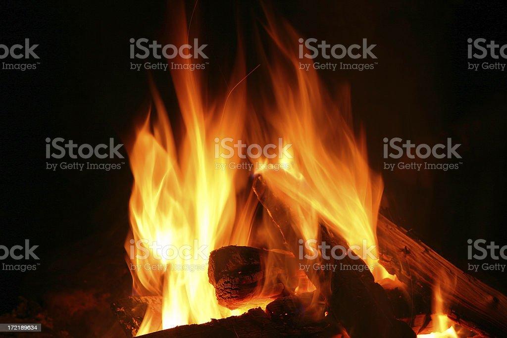 Flaming # 2 royalty-free stock photo