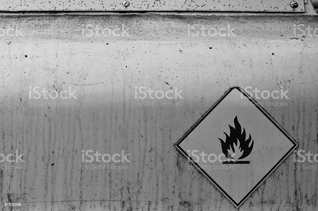 flammable material royalty-free stock photo