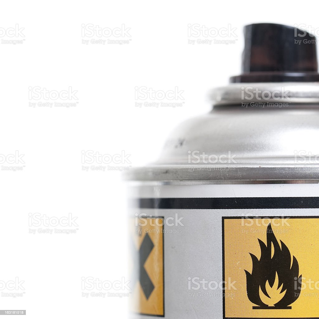 Inflammable stock photo