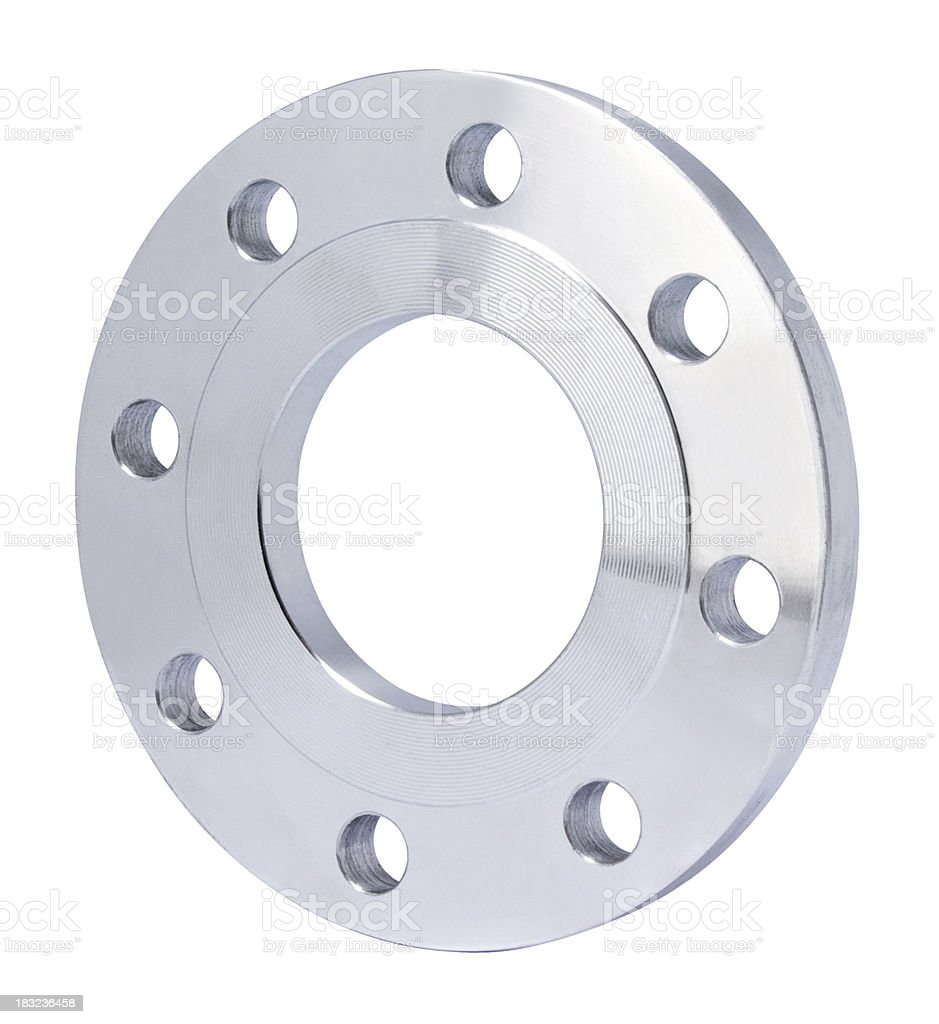Flange royalty-free stock photo