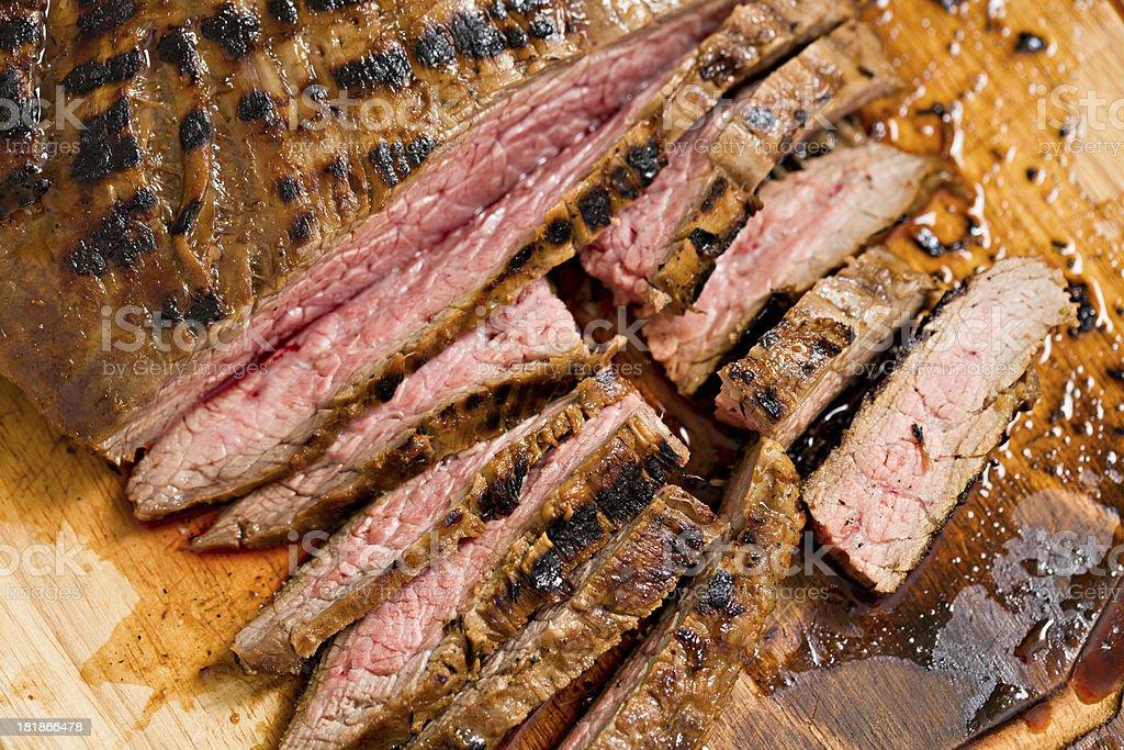 Flank Steak royalty-free stock photo