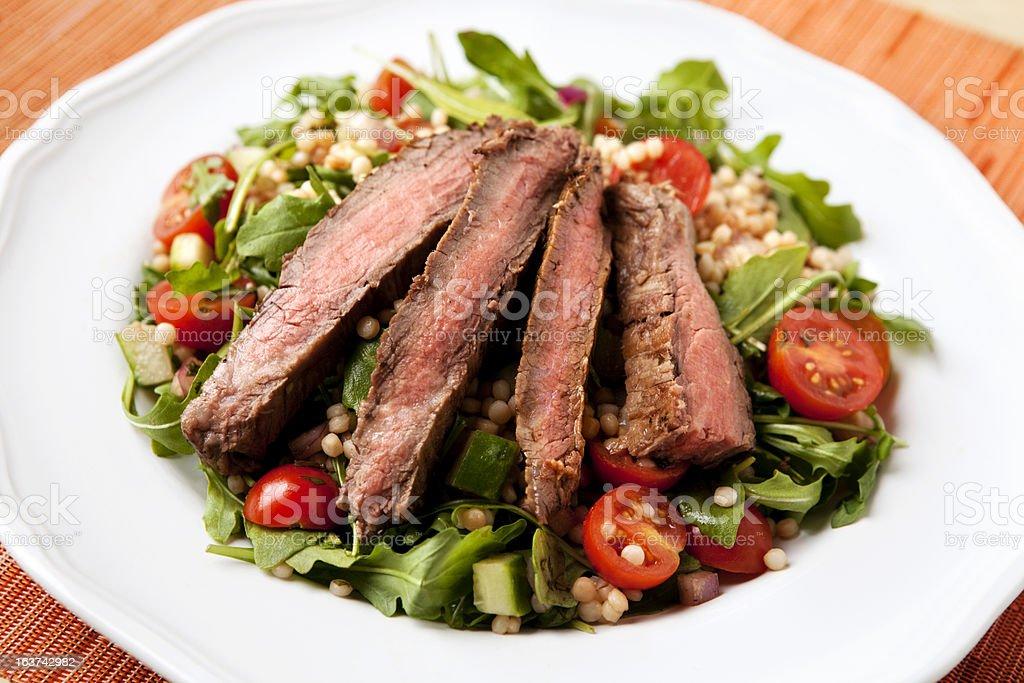 Flank Steak Salad stock photo