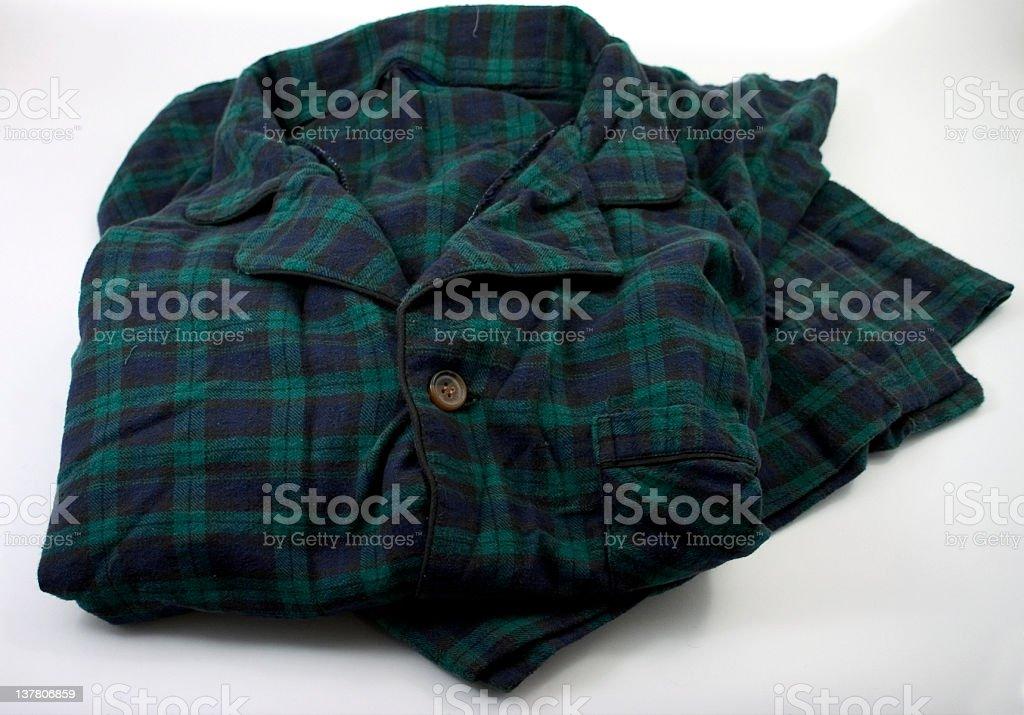 Flannel Pajamas stock photo