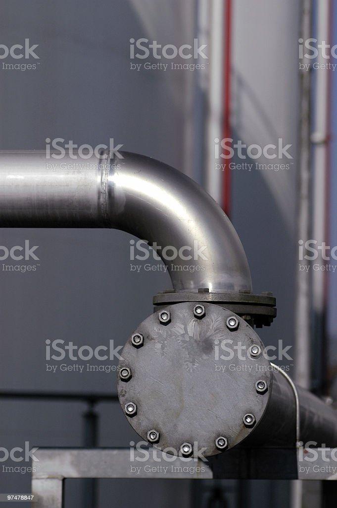 Flansch stock photo