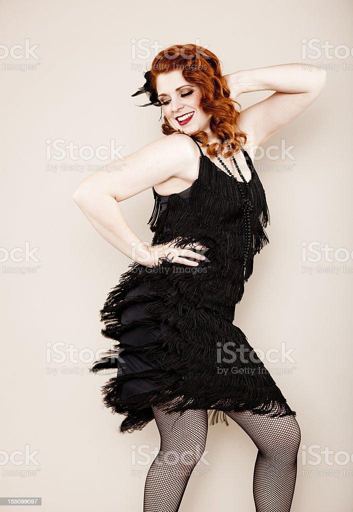 Flapper Girl Series stock photo