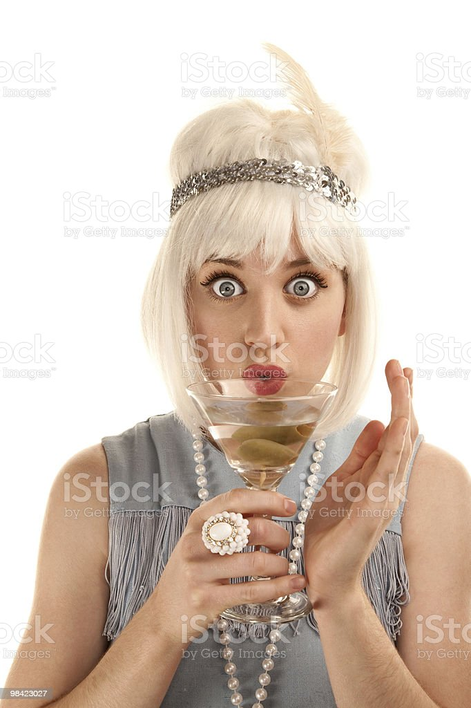 Flapper royalty-free stock photo