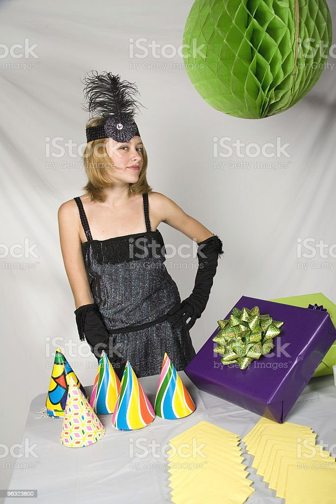 Flapper with Attitude royalty-free stock photo