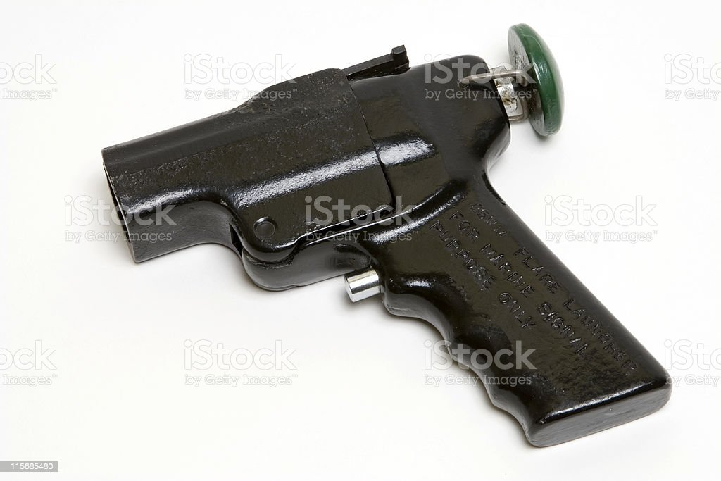 Flare Launcher royalty-free stock photo