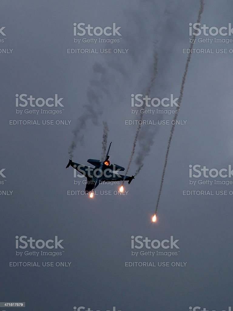 Flares Released royalty-free stock photo