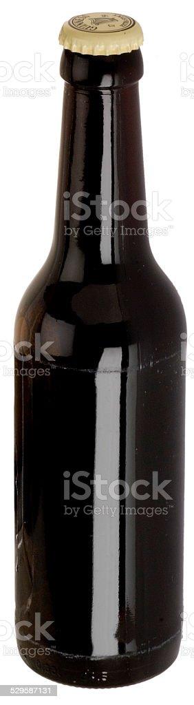 Flasche Schwarzbier (noname) stock photo