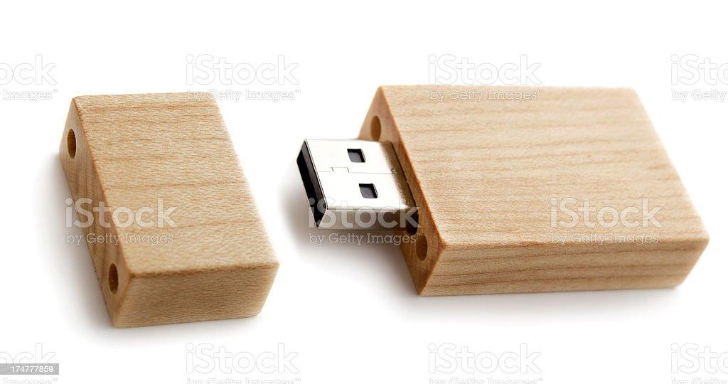 USB flash memory stock photo