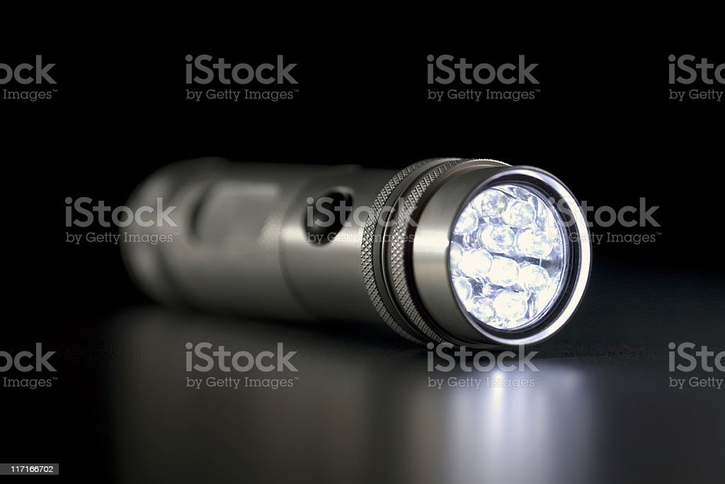 LED Flashlight royalty-free stock photo