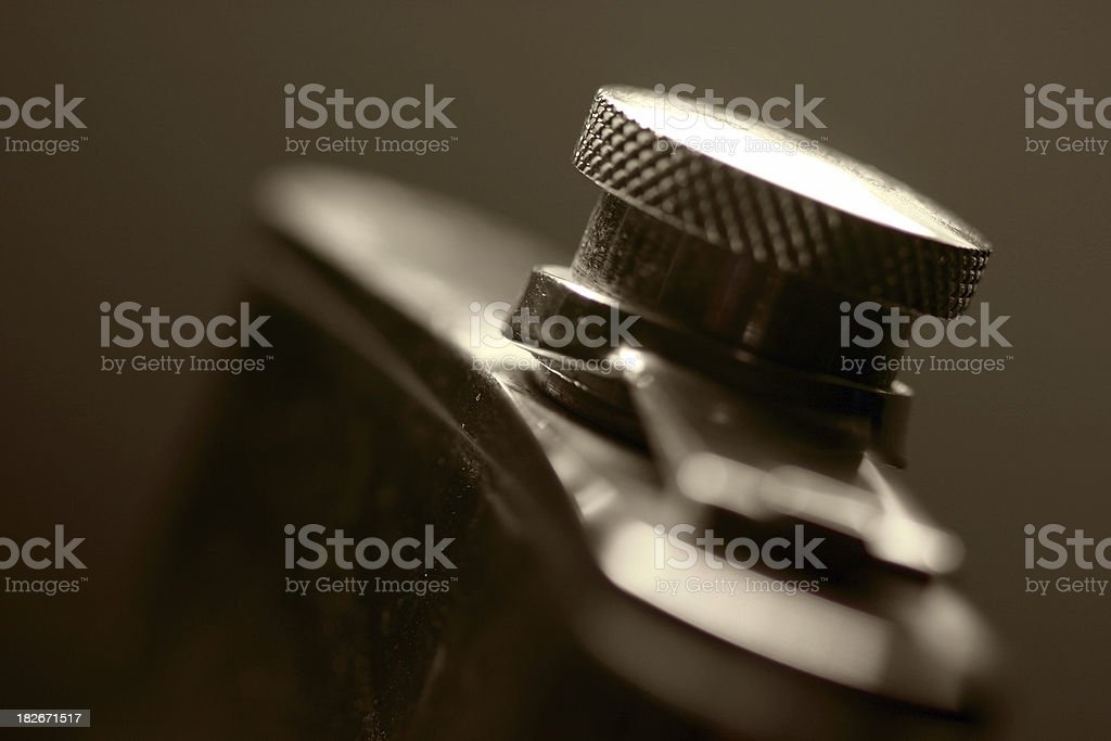 flask - with DOF royalty-free stock photo