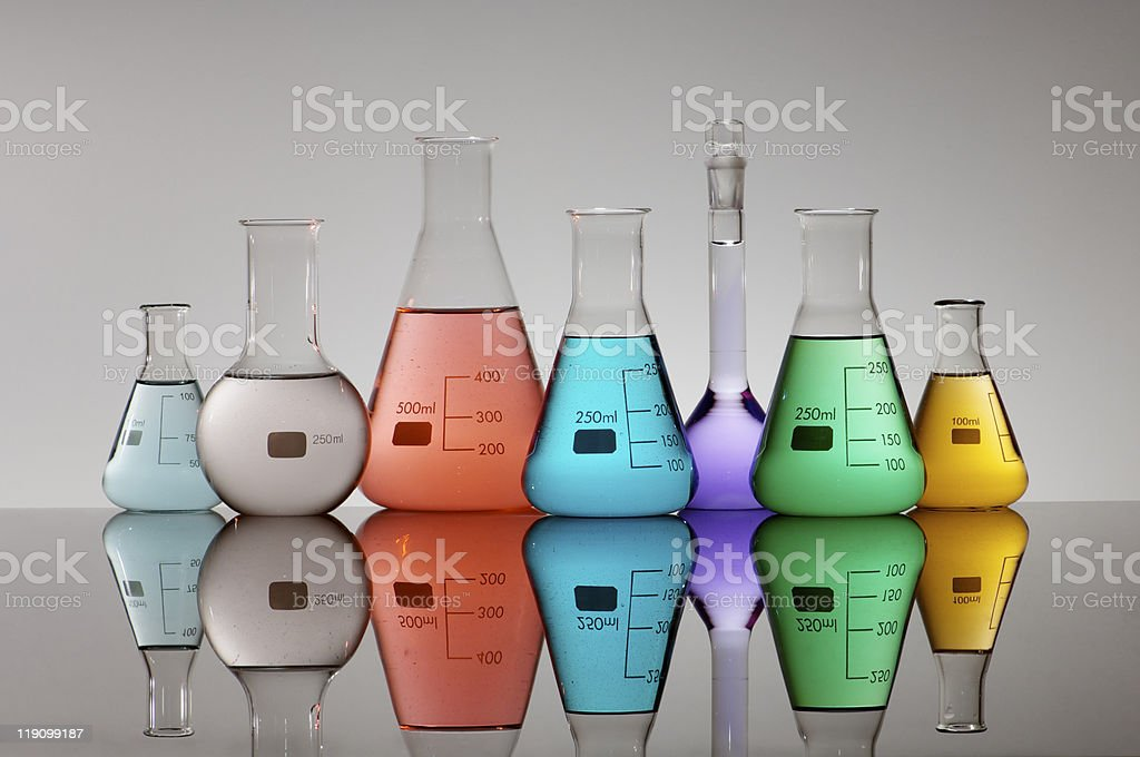 flasks royalty-free stock photo