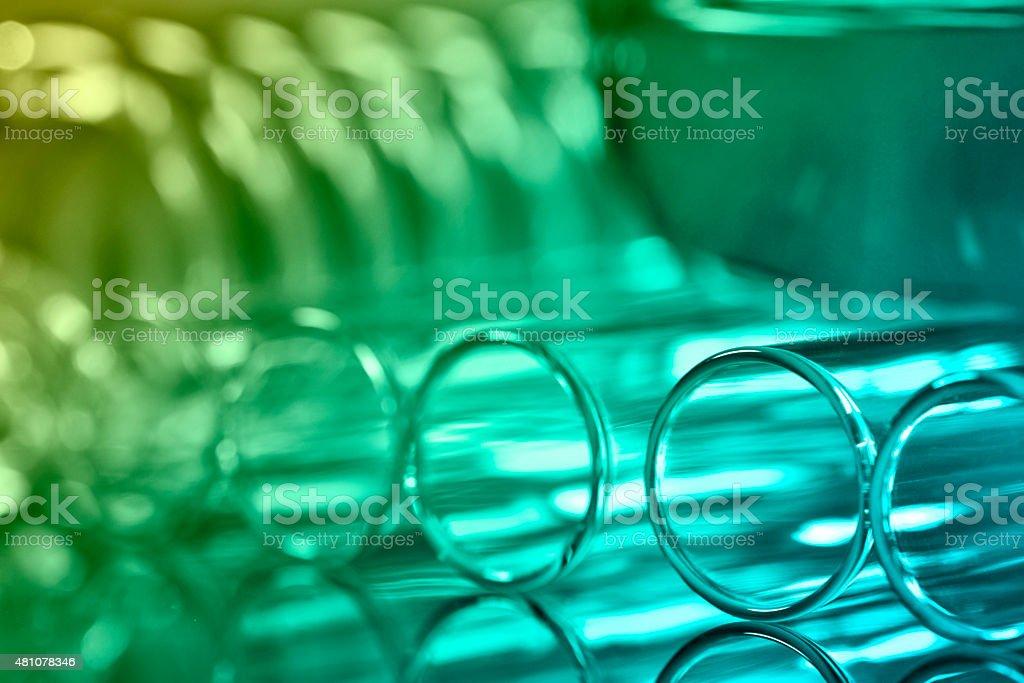 Flasks stock photo