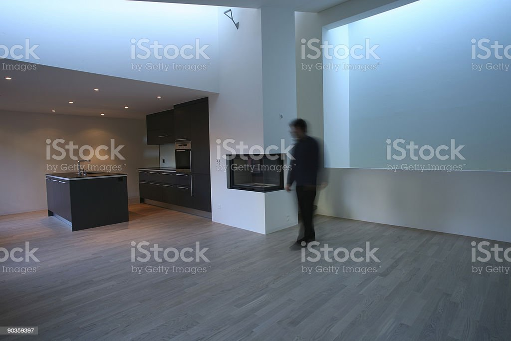 flat and person royalty-free stock photo