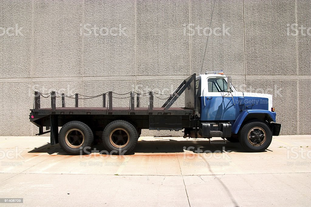 Flat Bed Side royalty-free stock photo