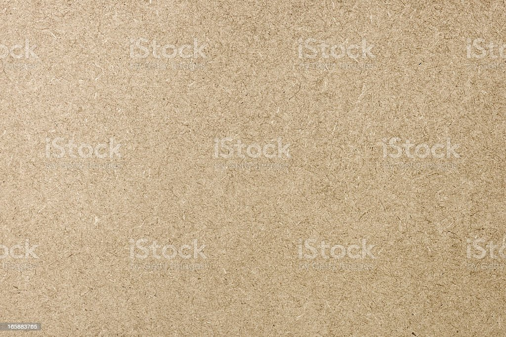 Flat Cardboard Background Texture royalty-free stock photo