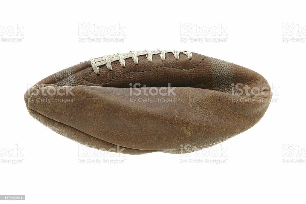 Flat Football stock photo