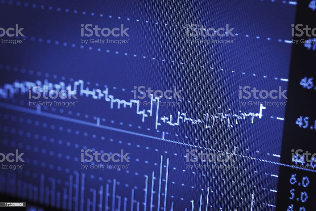 Flat Market stock photo