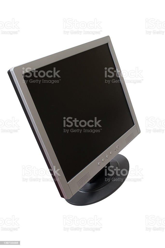 TFT Flat Panel Monitor royalty-free stock photo