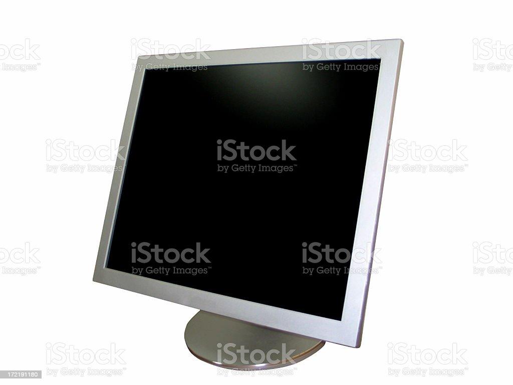 Flat Panel Monitor royalty-free stock photo