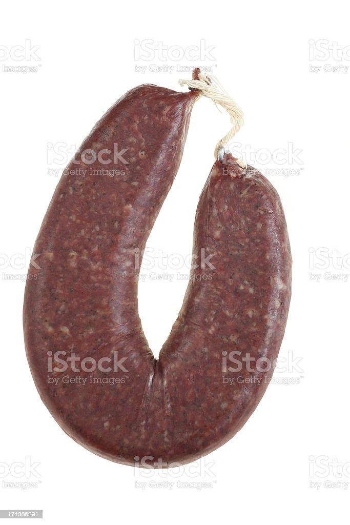 Flat Sausage royalty-free stock photo