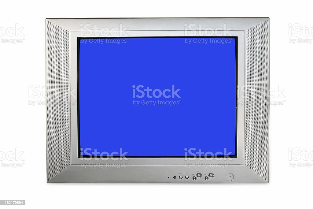 flat screen television royalty-free stock photo
