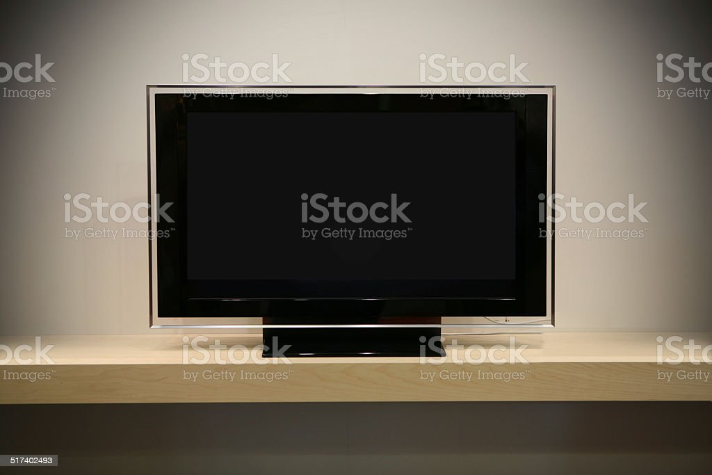 Flat Screen TV stock photo