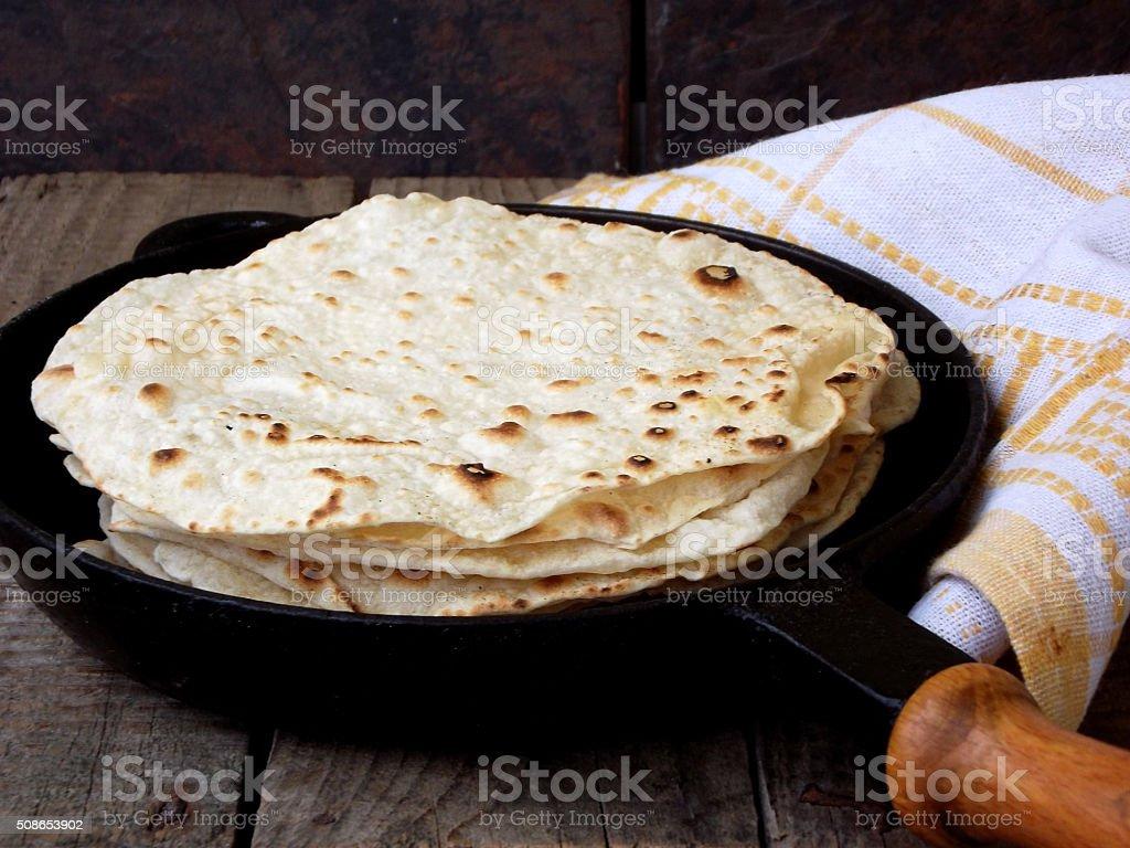 flatbread stock photo
