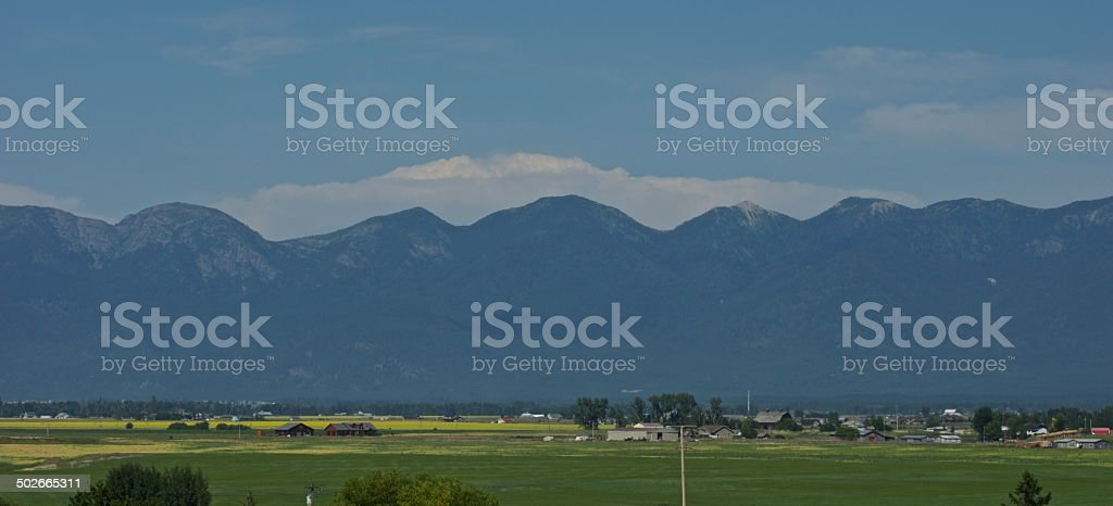 Flathead Valley stock photo