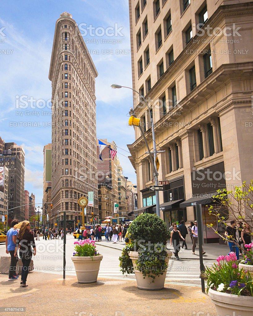 Flatiron Building royalty-free stock photo
