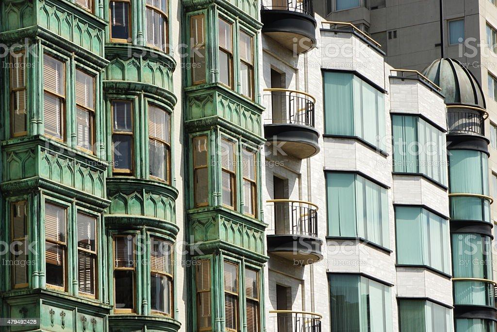 Flatiron Columbus Tower Sentinel Building stock photo