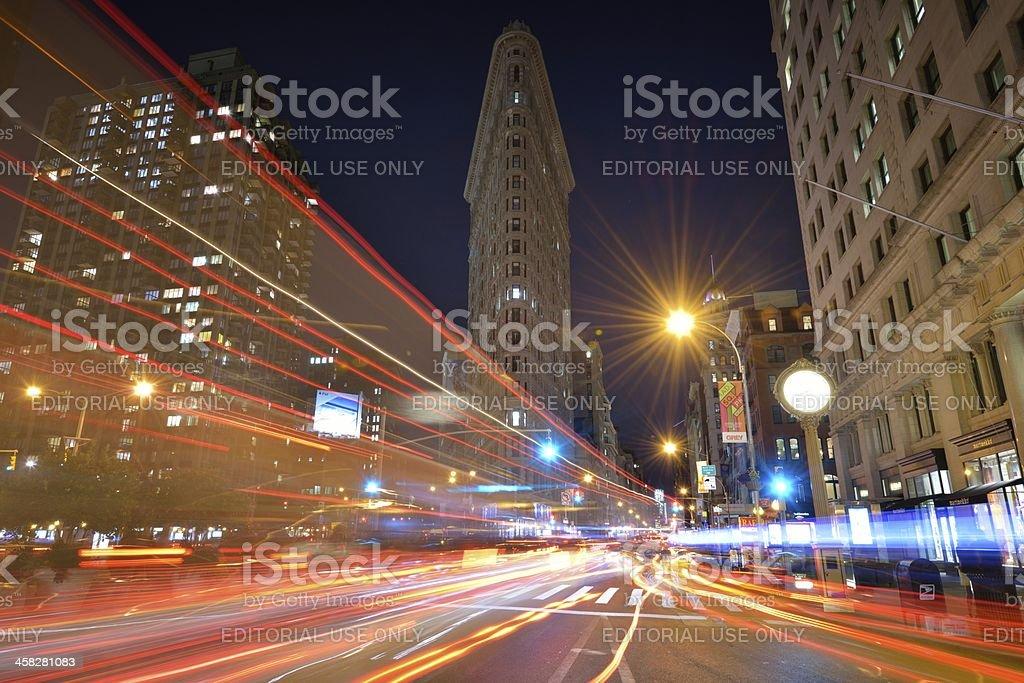 Flatiron District stock photo