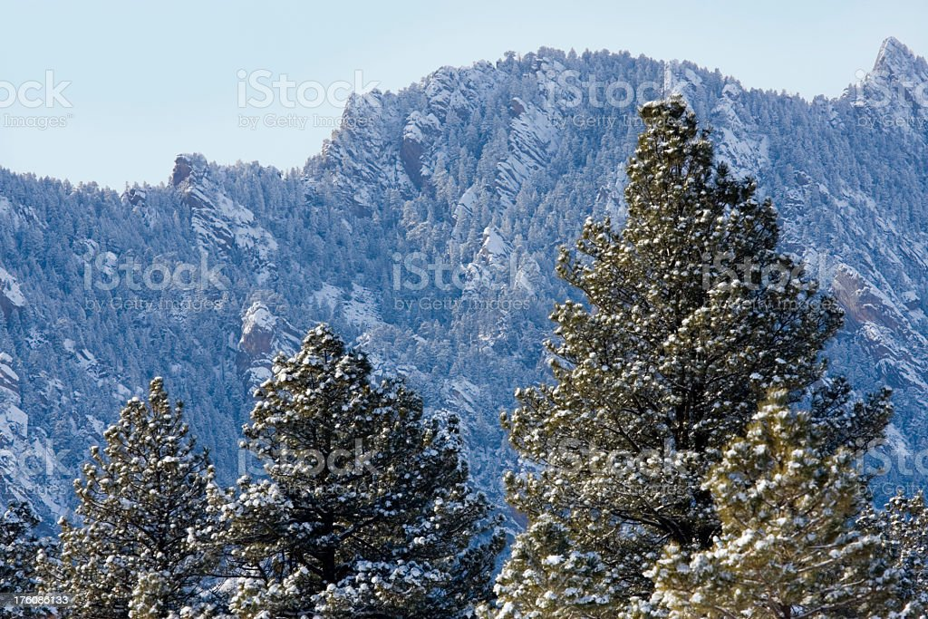 Flatiron Frost stock photo