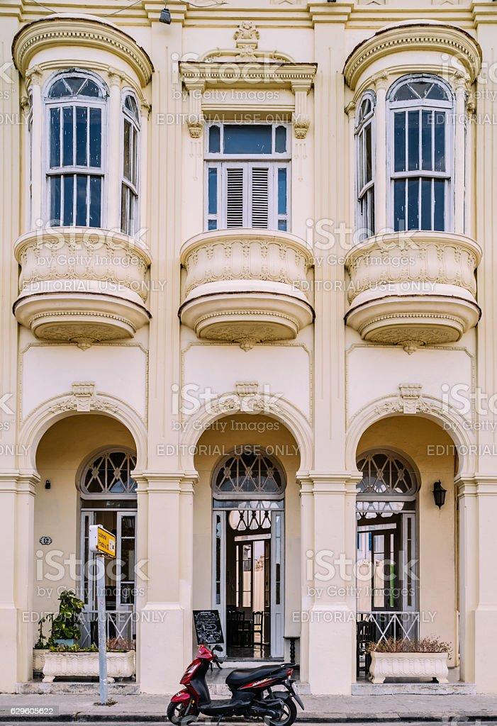 Flatiron on Prado, Havana stock photo
