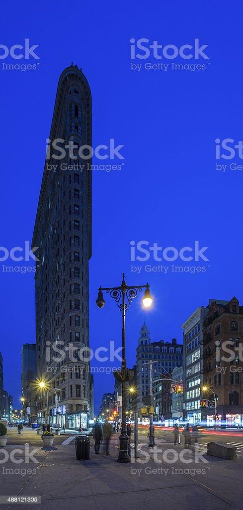 Flatiron Vertical stock photo