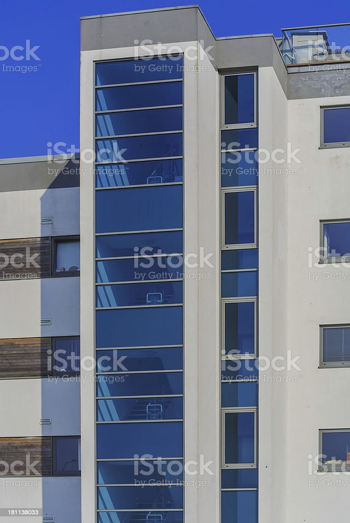 flats apartments royalty-free stock photo