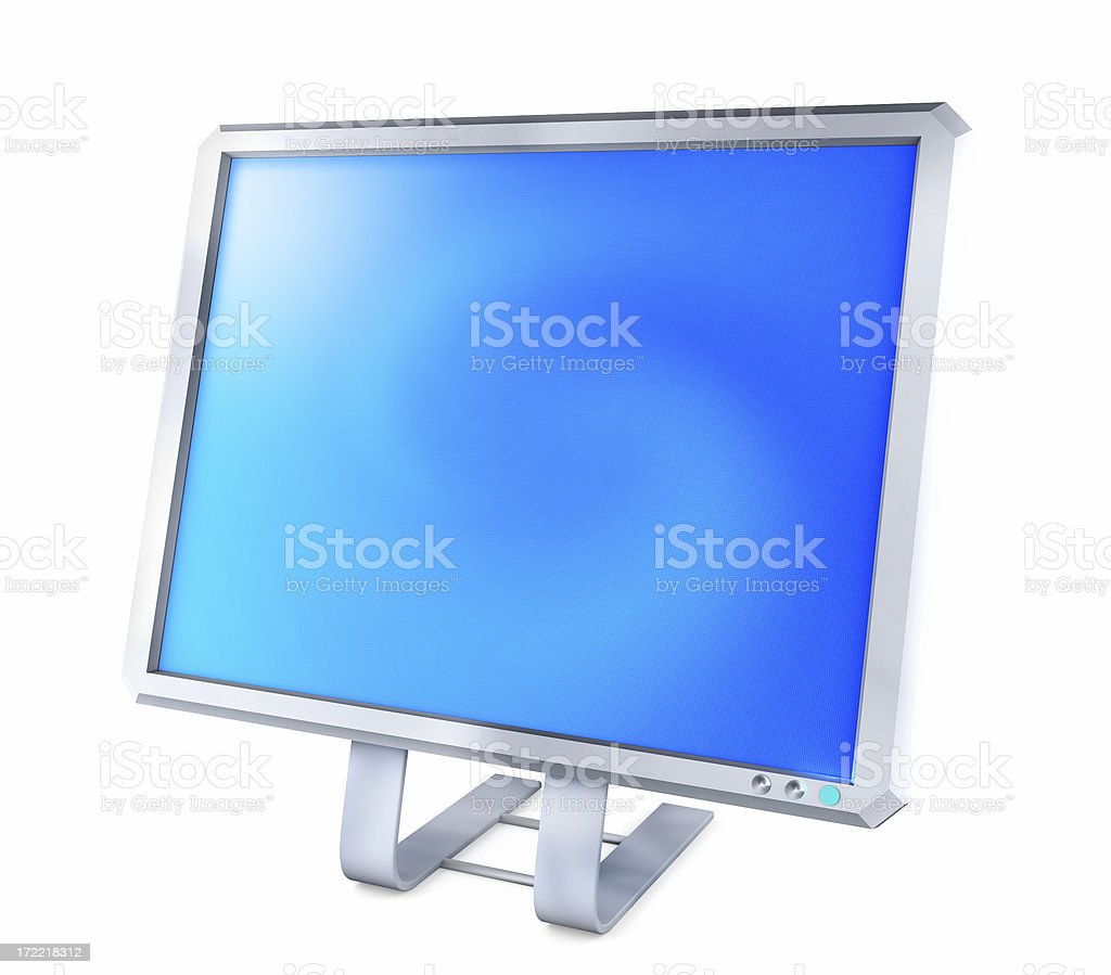 Flatscreen Display, SUPER HIGH QUALITY royalty-free stock photo