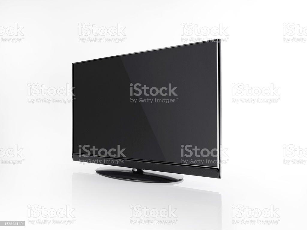 Flatscreen TV royalty-free stock photo