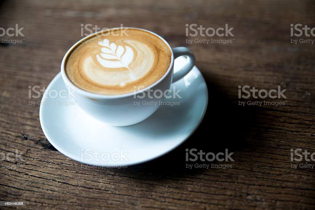Flatwhite Coffee stock photo