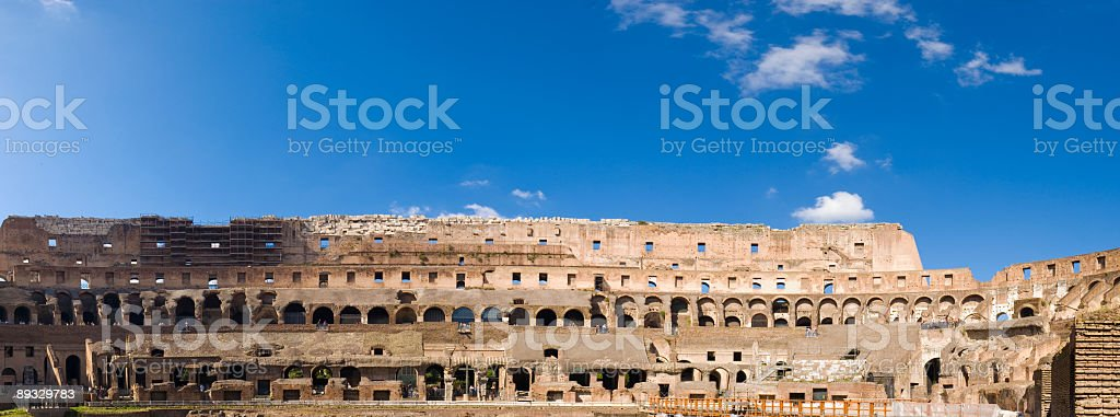 Flavian Amphitheatre, Colosseum, Rome royalty-free stock photo