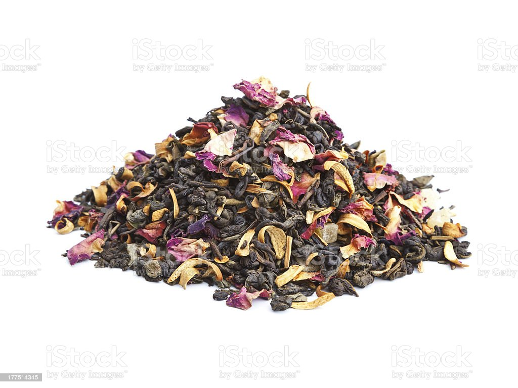 Flavored Green Tea royalty-free stock photo