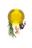 Flavoring ingredients: olive oil, garlic, pepper and rosemary